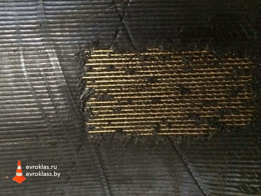 Техпластина снегоочистительная для отвалов кордная
